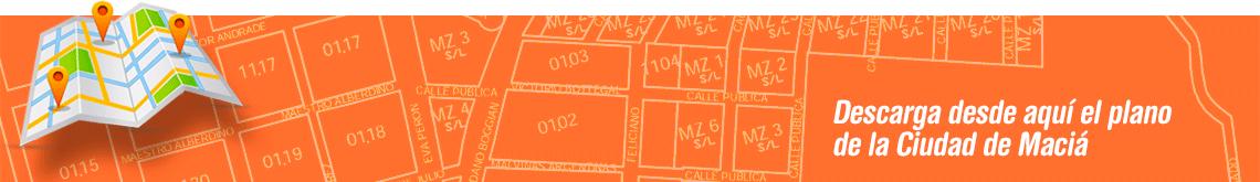 Plano de la Ciudad de Maciá